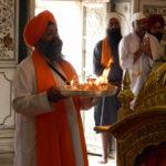 Aarti ceremony Golden Temple