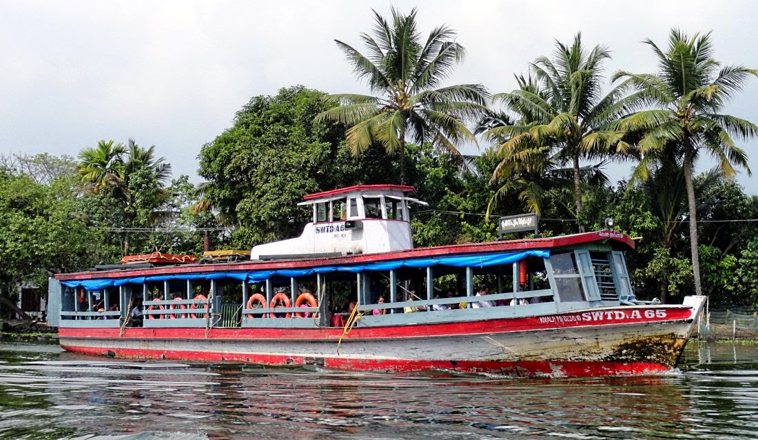 Alleppey Boat Jetty