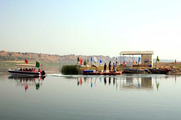 Boat Ride at Chambal River