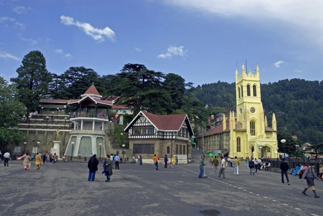 Christ-Church-in-Shimla