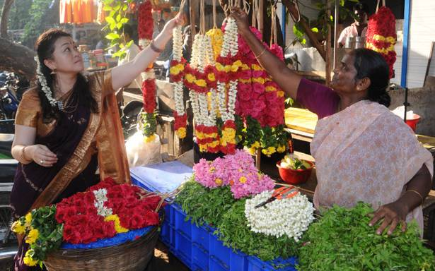 Flower & Fruit Market Chennai