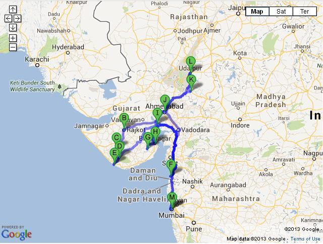 15 Days Vibrant Gujarat Tour from Mumbai