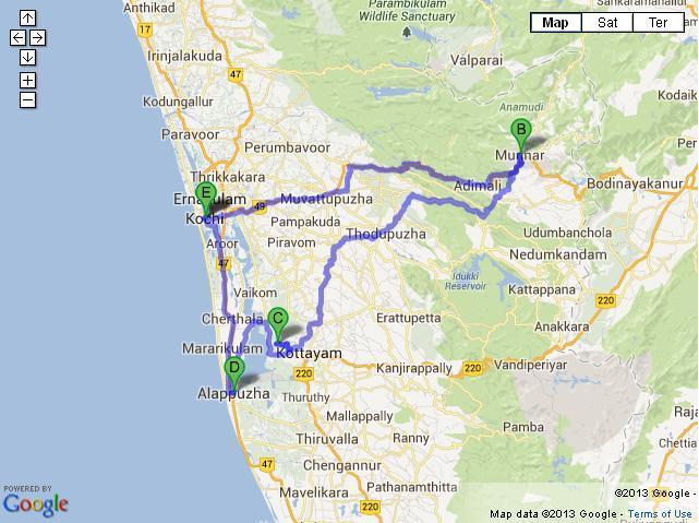 6 Days Cochin Munnar Kumarakom Alleppey Tour
