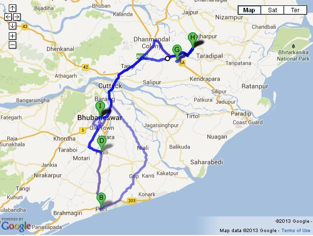 7 Days Odisha Tour from Bhubaneswar