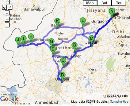 16 Days Offbeat Rajasthan Tour from Delhi
