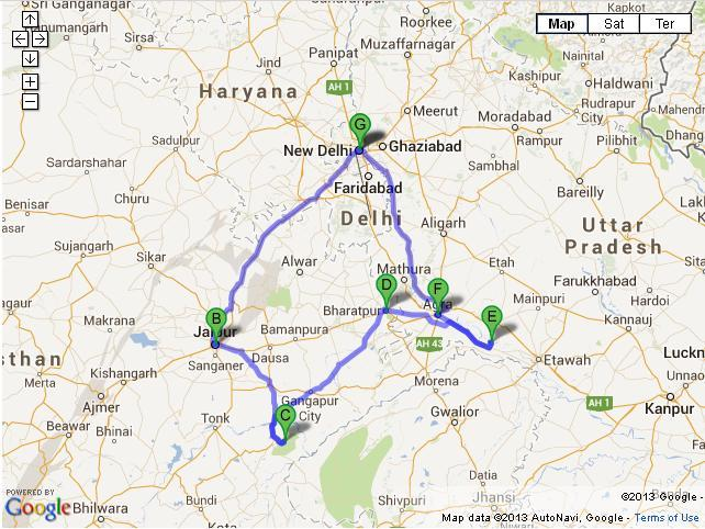 12 Days North India Tour from Delhi