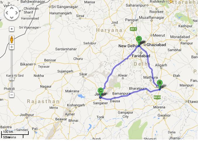 5 Days Golden Triangle Tour