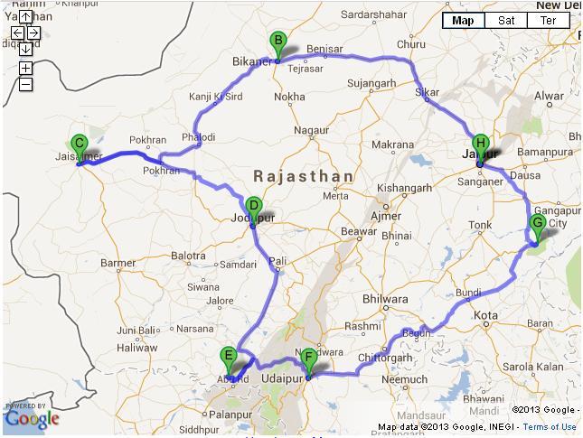 9 Days Delhi Agra Rajasthan Tour