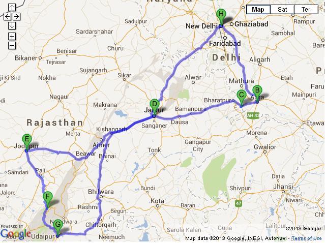 13 Days Classical Rajasthan Tour