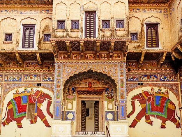 beautiful-Havelis-of-the-Shekhawati-region