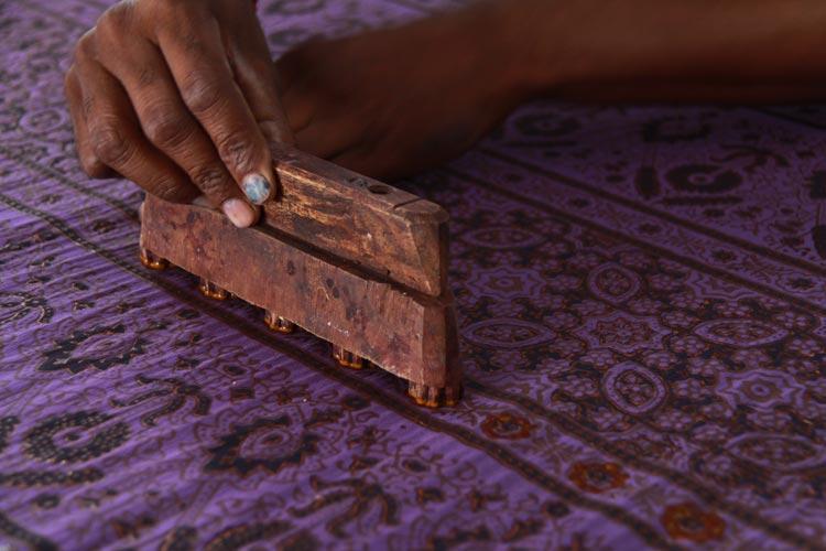 dhamadka block printing