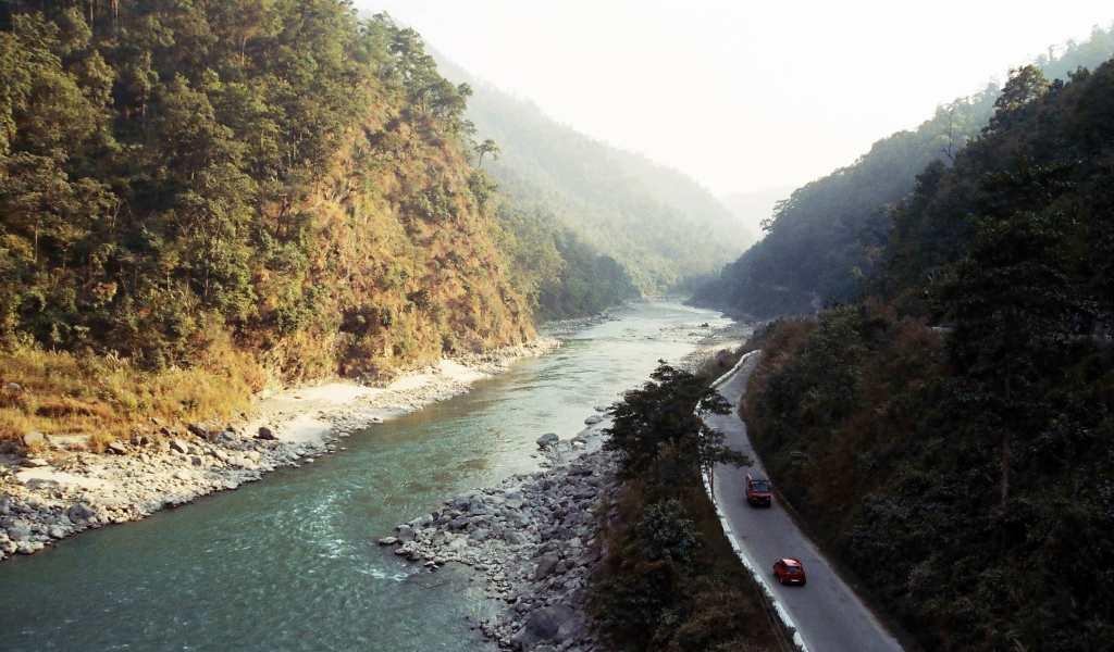 teesta river in darjeeling