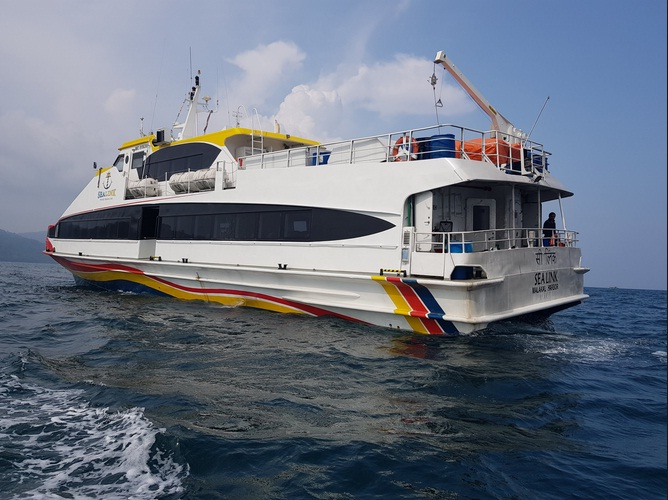 Harbour Cruise at Viper Island andaman