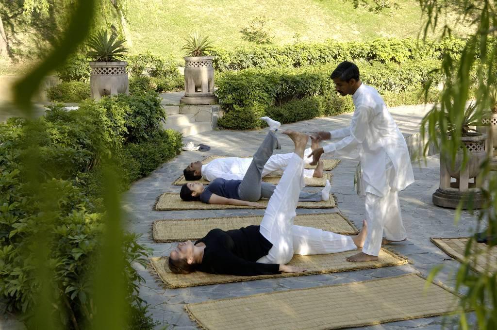 ananda spa yoga