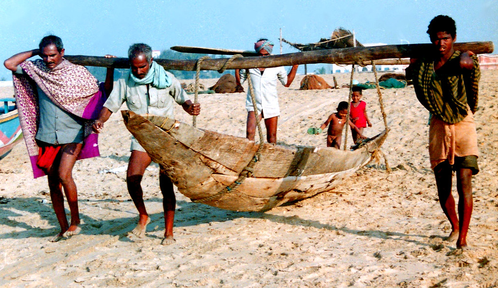 Fishermen village odisha