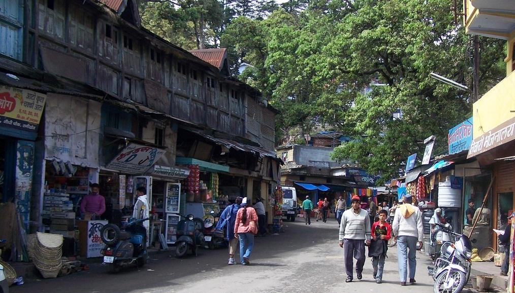 Ranikhet Local Market