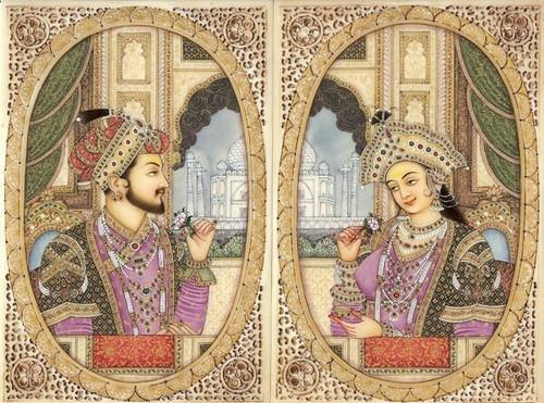 Shah Jahan and Mumtaj Mahal