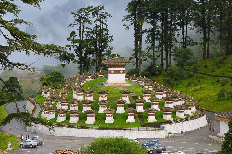 Dochu-la pass Bhutan