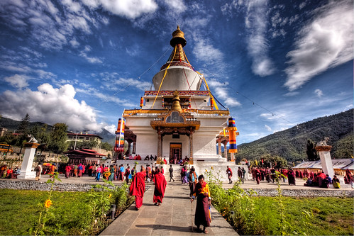 National Memorial Chorten Bhutan