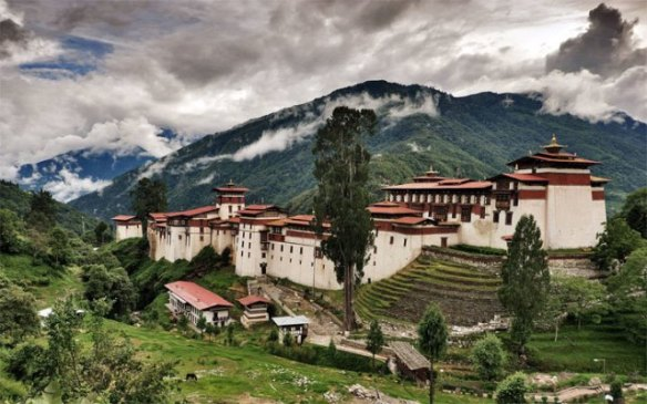 Simtokha Dzong Bhutan